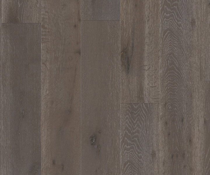 Timba 5G Flooring Brushed & Matt Lacquered Dark Grey Oak