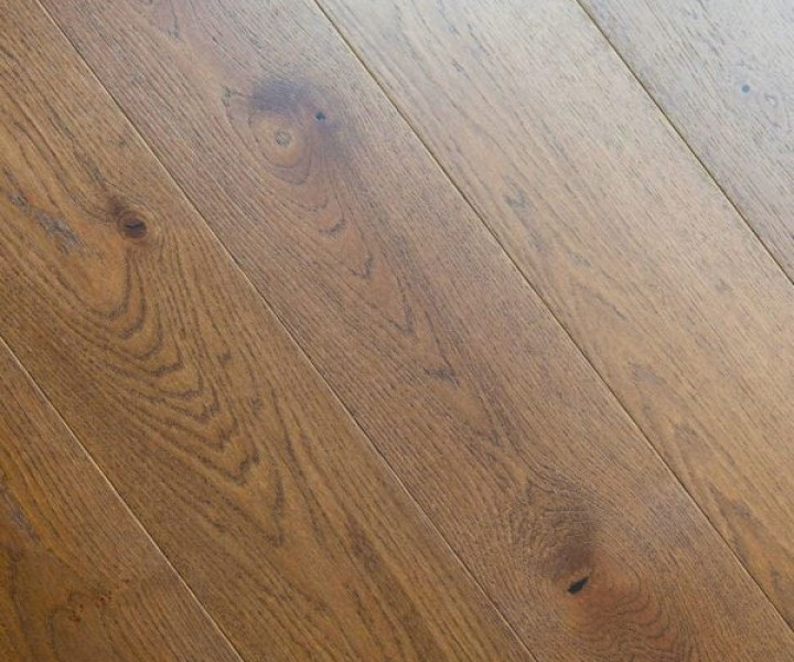 V4 Home Collection - 14mm Abinger  HC102 Oak Brushed Stained & Lacquered