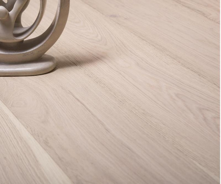 Burano Scandic White Brushed & Uv Oiled Hardwood Floor