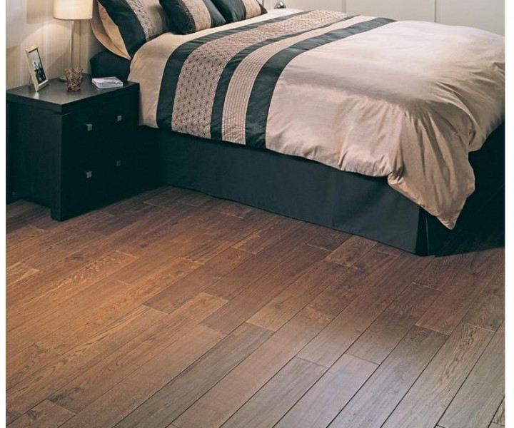 Elka 130mm Rustic Lacquered Antique Oak Flooring