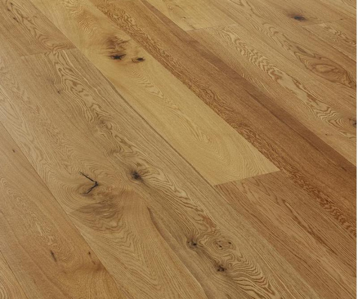TradeLine Oak Lacquered Click-Fit Flooring