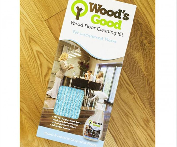Woods Good Cleaning Kit For Lacquered Floors