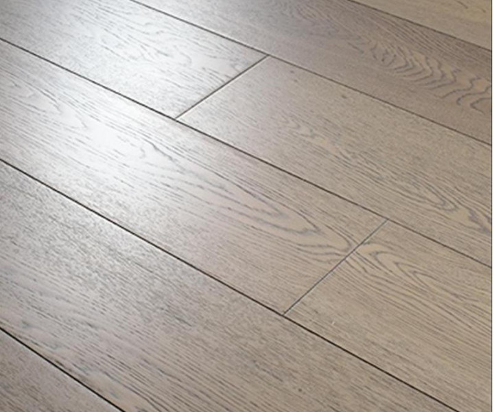TradeLine Slate Grey Oak Brushed & UV Oiled Wooden Floor