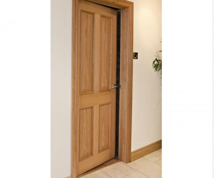 Oak Door Liners - Made to measure to 160mm
