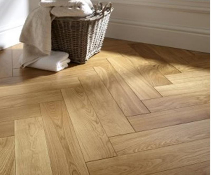 Furlong Herringbone Natural Oak Brushed & UV Oiled