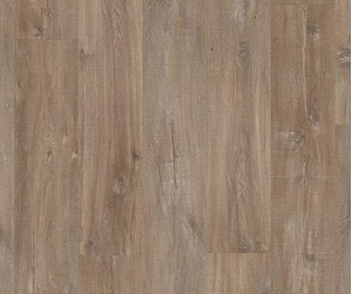 Quickstep Livyn Balance Glue Plus Canyon Oak Dark Brown With Saw Cuts BAGP40059