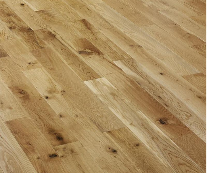 Campania Oak Wood Flooring Lacquered 125mm