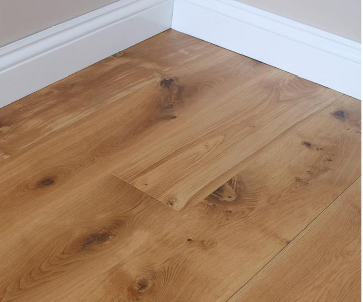 TradeLine Brushed & Oiled Engineered Oak Flooring