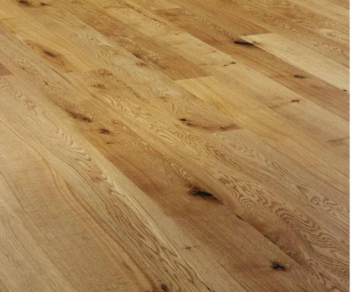V4 Alpine Planks A103 Oak Rustic Brushed & Lacquered