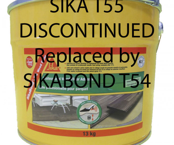 Sikabond T55 - discontinuid (replaced by Sika T54)