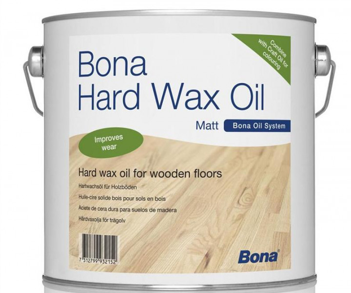 Bona Hardwax oil matt 2.5L