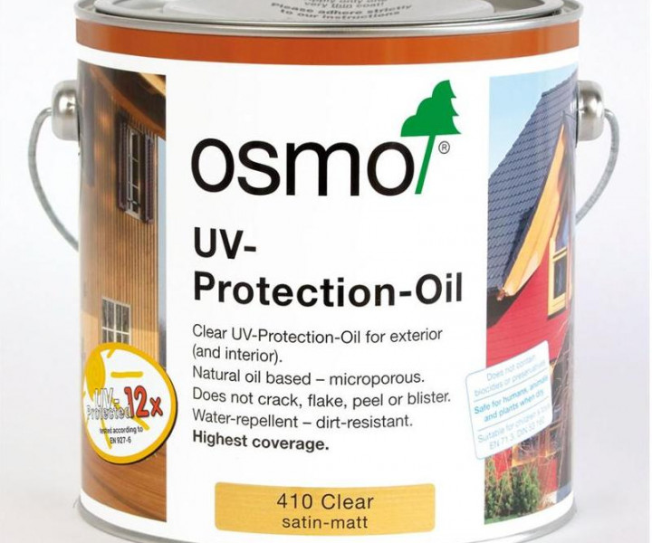 Osmo Uv Protection Oil 410 25l