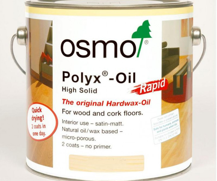 Osmo Polyx Oil Rapid Matt-3262 750ml