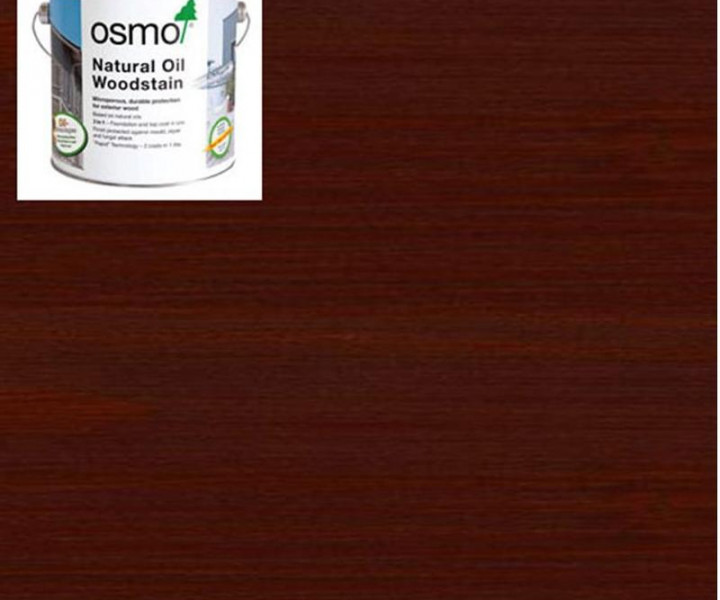 Osmo Natural Oil Woodstain Mahogany-703 750ml