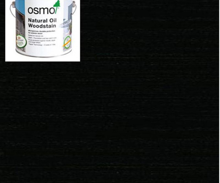 Osmo Natural Oil Woodstain Ebony-712 750ml