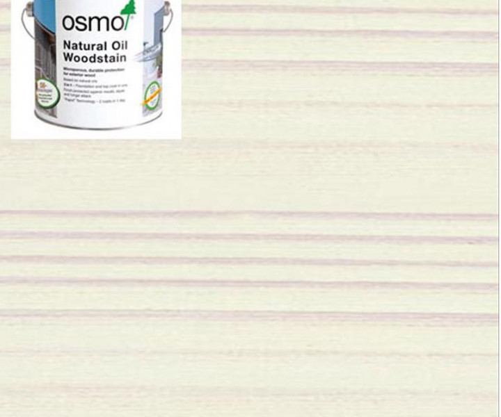 Osmo Natural Oil Woodstain White-900 750ml