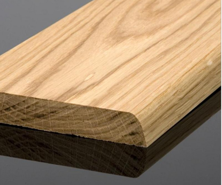 Solid Oak Bullnose Skirting Board