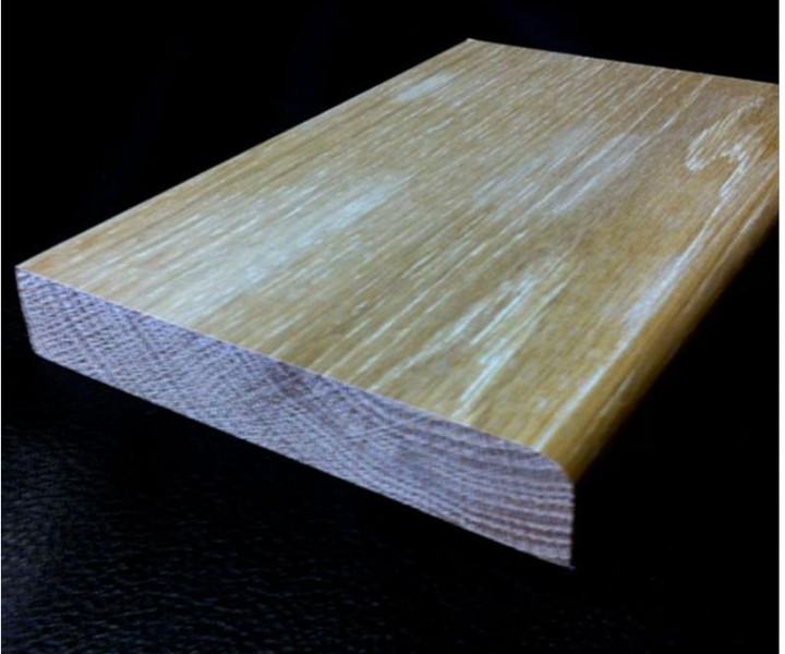 Solid Oak Pencil Round Skirting Board