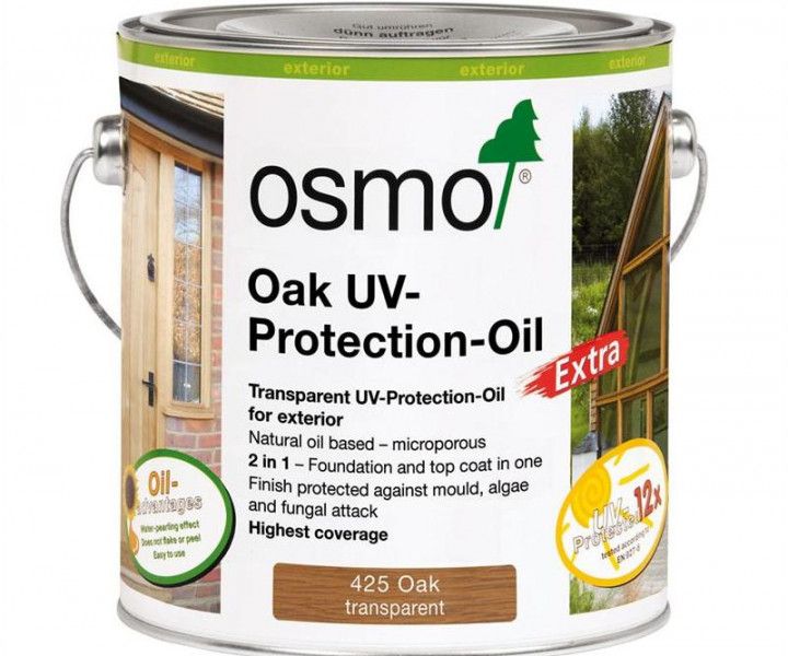 Osmo Uv Protection Oil Oak-425 2.5l