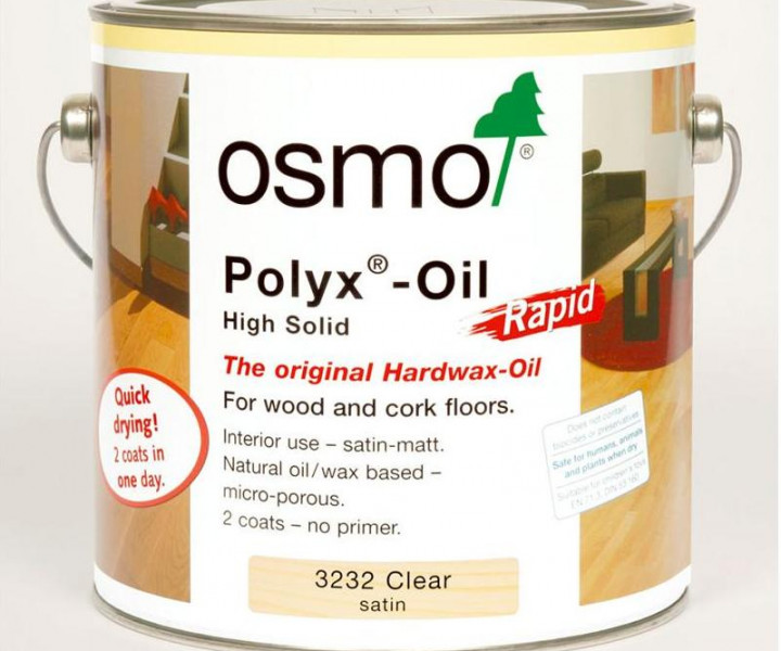 Osmo Polyx Oil Rapid Satin 3232 (2.5l)